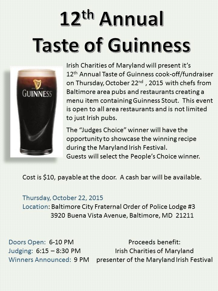 Taste of Guinness 2015