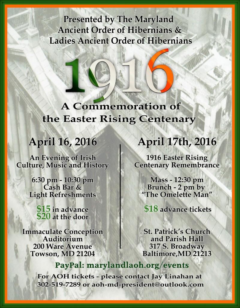 Maryland-AOH-flier2---Easter-Rising-Centenary---April-2016